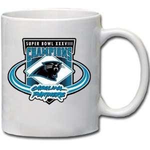 Panthers Super Bowl XXXVIII Champions Coffee Mug Sports & Outdoors