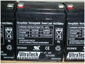 12V 4.5Ah Rechargeable Sealed Battery for Fire & Burglar Alarm Panels