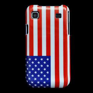 American Flag Hard Cover Case Samsung Galaxy S I9000