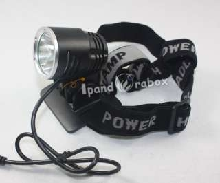 CREE XML XM L T6 1600L LED Bicycle bike Light HeadLamp