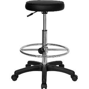 Flash Furniture Multi Function Drafting Stool With Adjustable Foot