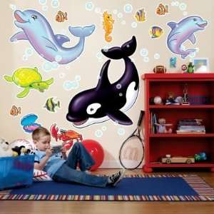 Party Destination 159462 Sea Life Giant Wall Decals