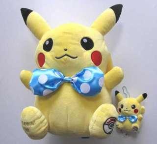 Japanese Pokemon Center Osaka PIKACHU Large Plush Plushie W/Keychain
