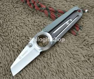 Ganzo G706 2 Two Blades(Saw) Frame Lock Folding Knife Multi Tool w