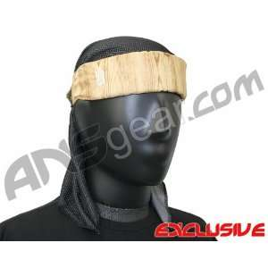 Full Clip Headband w/ Netting   Wood Beauty