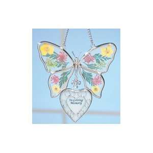 Loving Memory Butterfly Ornament: Home & Kitchen