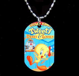 Looney Tunes Tweety Photo Dog Tag Personalize it FREE