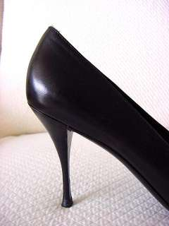 PRADA Shoe Opera Styled Black Pump 9 gr8 4 Career