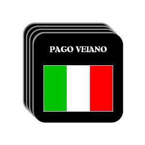 Italy   PAGO VEIANO Set of 4 Mini Mousepad Coasters