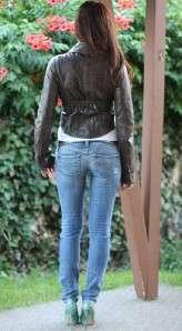 NWT~DIESEL~Cirinc~Lambskin embroidered jacket~M~$650