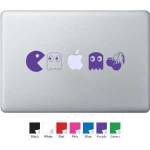 Pac Man Small Decal for Macbook, Air, Pro or Ipad