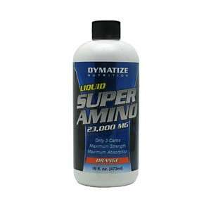Dymatize Nutrition/Liquid Super Amino 23000 mg/Orange/16