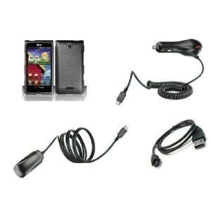 LG Lucid (Verizon) Premium Combo Pack   Carbon Fiber