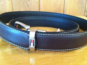 Leather Reversible Belt   Dress/Casual   Brown/Black   40   NWT