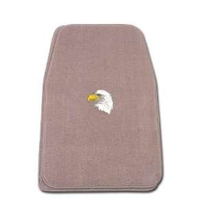 Universal Fit Front Two Piece Floormat with EAGLE Logo Automotive