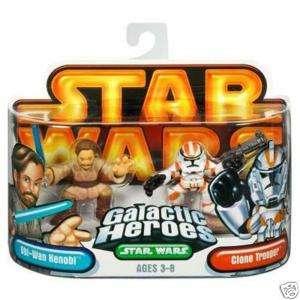 Star Wars Galactic Heroes Obi Wan Kenobi Clone Trooper