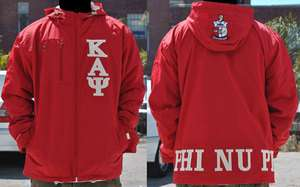 PSI COAT KAPPA ALPHA PSI RED Windbreaker Jacket Coat M 5XL NUPE