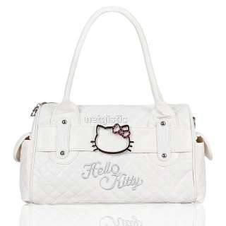 White hellokitty kitty women tote shoulder bag handbag purse Xmas gift