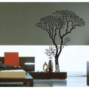 Vinyl Decal Sticker Forest Trees Nature Living Room Modern Nursery