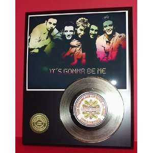 Gold Record Outlet NSYNC 24kt Gold Record Display LTD