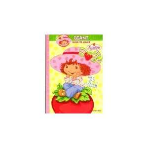 Strawberry Shortcake Giant Book to Color ~ Be You Toys
