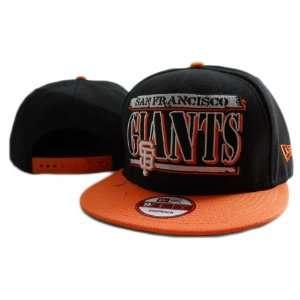 San Francisco Giants New Era 9fifty Snapback Hats Black
