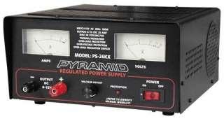 NEW PYRAMID 25 AMP 6V 15VDC REGULATED POWER SUPPLY