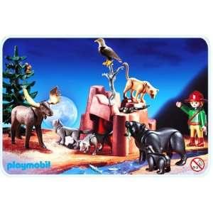 Playmobil 3322 North American Wildlife Rare Toys & Games