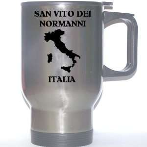 Italia)   SAN VITO DEI NORMANNI Stainless Steel Mug: Everything Else