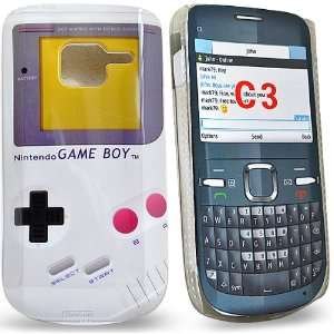 Mobile Palace   Gameboy design hard case cover for Nokia c3