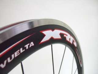 NEW VUELTA Team SL 50mm Carbon Fiber / Aluminum ROAD BIKE WHEELSET