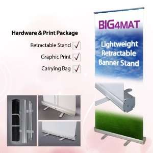 Lightweight Retractable Banner Stand with Custom Print [48