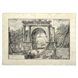 Roman Ruins II by Giovanni Battista Piranesi 23x17