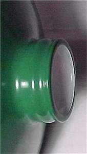 Metal Cone Lamp Light Shade Pendant 2.25 X 10 Green Porcelain