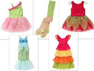 10 12 Gymboree girls Halloween Party Dress Fairy Costume Tights