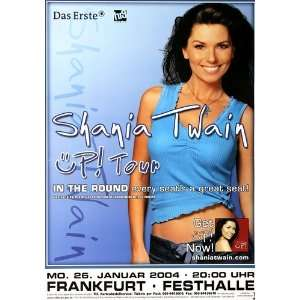 Shania Twain   Üp! Tour 2004   CONCERT   POSTER from