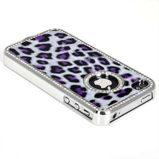 Luxury Bling Rhinestone Hard Skin Case Cover for iPhone 4G 4S
