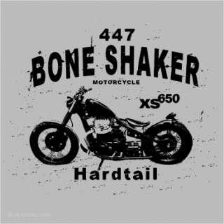 Motorrad T Shirt Herren XS 650 Chopper Biker Shirts L