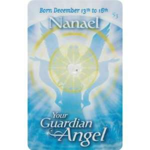 Guardian Angels Wallet Card English Nanael (each): Home & Kitchen