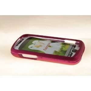 HTC MyTouch Slide 3G Hard Case Cover for Metallic Pink