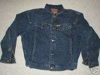 MOLSON CANADIAN TOUR 81 ROAD CREW BLACK DENIM JACKET