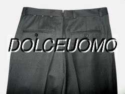 NEW $375 men HICKEY FREEMAN GABARDINE WOOL DRESS PANTS 32 W Pleated