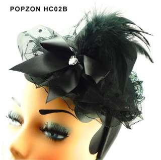 You are bidding on a unique and high Quality mini Top Hat Hair Clip