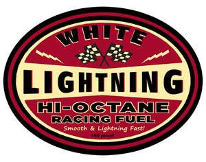 Rod GearHead White Lightning High Octane Racing Fuel T shirt