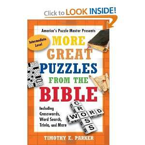 Word Search, Trivia, and More (9781439192283) Timothy E Parker Books