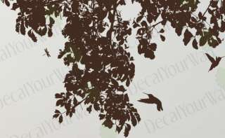 Large Tree Branches Removable Wall Decal Vinyl Sticker