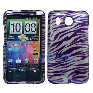 Zebra Hard Case Cover Skin For AT&T HTC Inspire 4G