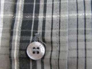 RENEGADE size LARGE, outerwear sportswear button up plaid dress shirt