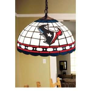 Team Logo Hanging Lamp 16hx16l Houston Texans: Home Improvement