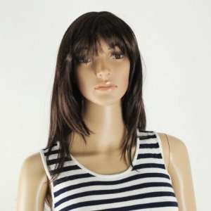 Bang Lady Wig *100% Kanekalon Top Quality*Fashion* Skin Top* #2576